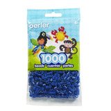 Juguetes Fichas Bolsa Perler Azul