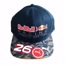 Promoção Novo Boné Red Bull Racing F1 Team Daniil Kvyat 2016