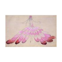 Mistinguett Costume Design Vintage Poster France Print, 24