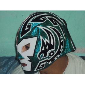 Mascara Luchador Dr Wagner Jr Profesional Autografiada Lame
