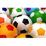 Bola Futebol Campo / Society / Areia Costurada Câmara De Ar