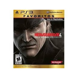 Metal Gear Solid 4 Ps3, Favoritos, Nuevo Y Sellado