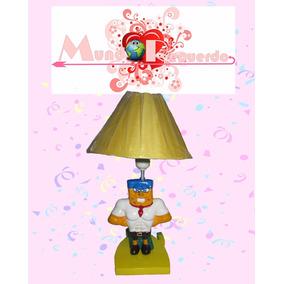 Lámpara Infantil Bob Esponja Centro De Mesa