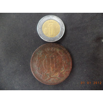 Moneda De 10 Centavos 1921