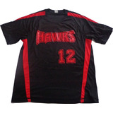 Futbol Beisbol Camiseta Usa Americana Hip Hop Talle M Negra