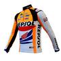 Camisa Ciclismo Ert Repsol Honda Mtb Speed Bike Manga Longa