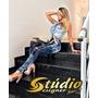 Calça Power Jeans Cetin Detonada Studio Designer Jeans