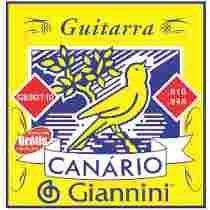 Jogo De Cordas Giannini Guitarra .010 Gegst10 Encordoamento
