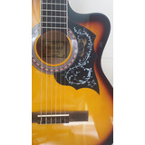 Guitarra Acustica Importada Color Sunburst Tricolor Original