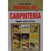 Manual De Carpinteria, Libro Digital Formato Tipo Pdf