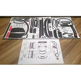 Kit De Adesivos Para Bolha 1/8 Do Audi R8 Kyosho Inferno Gt2