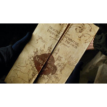 Caneca Mágica Harry Potter Mapa Do Maroto + Grátis Mapa