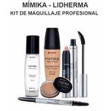 Kit De Maquillaje Profesional Mimika Lidherma Env S/c Caba