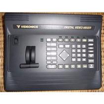 Mesa Videonics Mx1 + Gerador De Caracteres Videonics Tm-2000