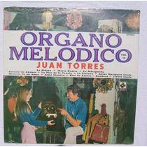 Juan Torres Organo Melodico Vol. 10. Disco Lp Sellado Musart