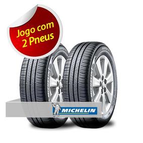 Kit Pneu Aro 15 Michelin 205/60r15 Energy Xm2 91h 2 Unidades