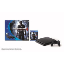 Video Game Console Sony Playstation Ps4 Slim Uncharted 500gb