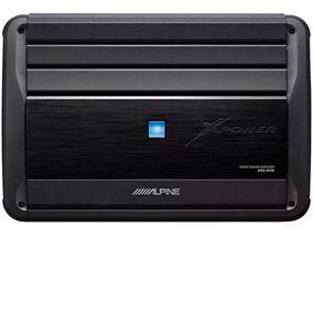 Amplificador Digital Mono Alpine Mrx-m110 1.100w Rms 2 Ohms
