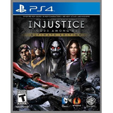 Injustice Ps4 Edicion Ultimate