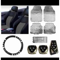 Kit Acessórios Para Carro-capa Banco-tapetes-volante-pedalei