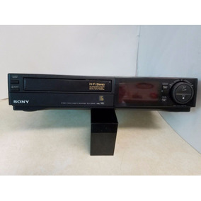 Vcr Video Cassete Sony Slv-585hf Hi-fi 4-head Conserto Peças
