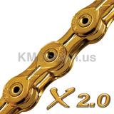 Cadena Bicicleta Kmc X10sl Dorado