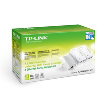 Tp-link Tl-wpa4220t Powerline Starter Kit 2p Ethernet Av500