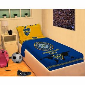 Juego De Sábanas Twin Boca Juniors