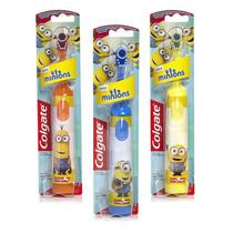 Escova De Dentes Elétrica Infantil Minions Colgate 1 Unidade