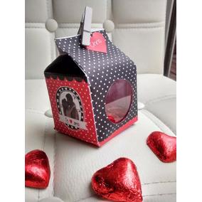 Regalos San Valentin Caja De Bombones Aniversario Casamiento