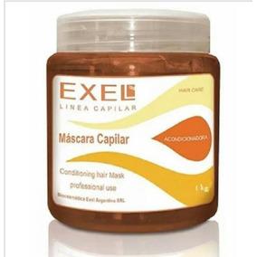 Mascara Capilar Con Keratina Exel 1 Kg En Bellacents!!!!