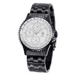 Konigswerk Hombre Multifunción Negro Reloj Pulsera Blanco Di 67018b556221