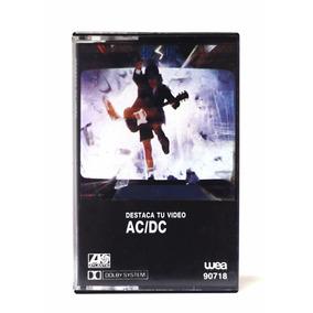 Cassette Ac Dc Blow Up Your Video 1988 Heatseeker // Nuevo !