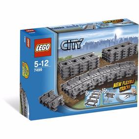 Lego City - 7499 Kit De Trilhos: Retos E Flexíveis Novo!!!