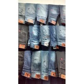 Lote 05 Calças Jeans Masculina Marcas Famosas Atacado Barato