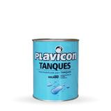 Pintura Impermeabilizante P / Tanques 1 L Plavicon Prestigio
