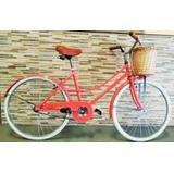 Bicicleta De Dama Vintage Paseo Canasto. La Plata