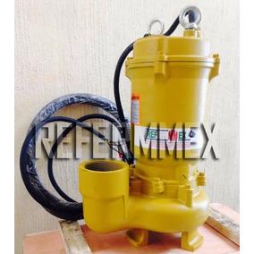 Bomba Sumergible 5hp 220v 3f Para Agua Sucia 5 Hp 6m Cable