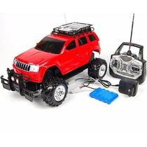 Jipe Jeep Carrinho Carro Controle Remoto Recarregavel
