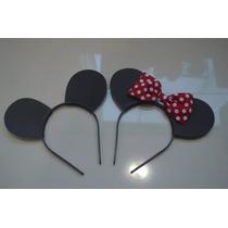 Kit Lembrancinha Tiaras Minie E Mickey (25 Peças)