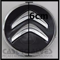 Calota Tampa Central Roda Citroen C3 Aircross Preto - 1 Pç