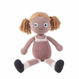 Muñeca Rellena Bebes Niños Deco Tejido |lana|babyboutique