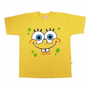 Camiseta Infantil ( Bob Esponja )cód 007