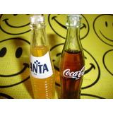 Mini Botellitas Miniatura Fanta Coca Cola $99 Por Las Dos