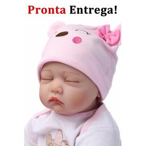 Pronta Entreg Bebe Reborn Barato Boneca Bebê Reborn Dormindo
