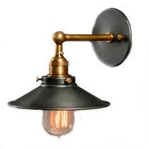 Lámpara Edison Para Pared Diseño Industrial Vintage Retro