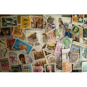 Lote Com 2000 Selos Comemorativos Universais Usados