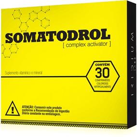 Somatodrol - Complexo Ativador 30 Cápsulas - Original