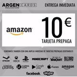 Amazon Tarjetas Prepagas 10 Euros - Gift Cards