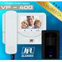 Vídeo Porteiro Colorido Led Lcd Câmera Digital - Jfl Vp 400